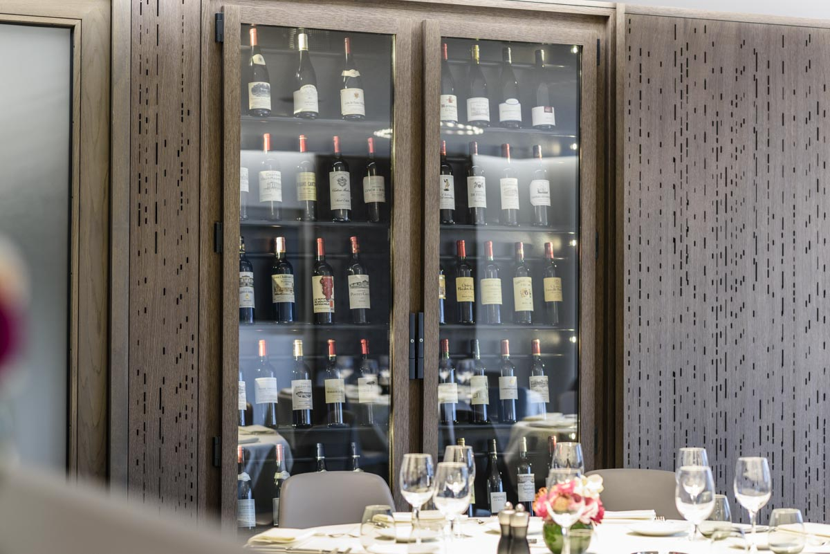 Cave A Vin Design beef & co. — provintech — custom wine cabinets makers